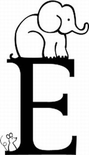 Kids Font E Decal