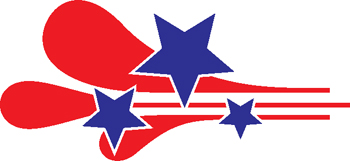 stars and stripes decal 45