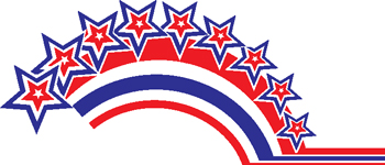 stars and stripes decal 30