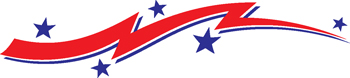 stars and stripes decal 125
