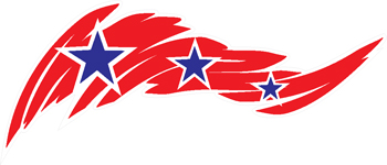 stars and stripes decal 264