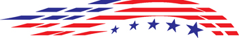 stars and stripes decal 266