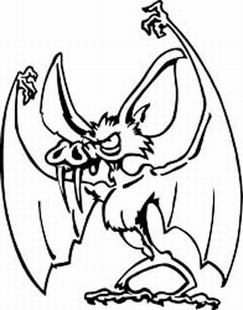 Bat decal