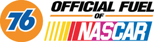 76 Official Fuel of Nascar decal