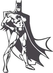 Batman decal 2
