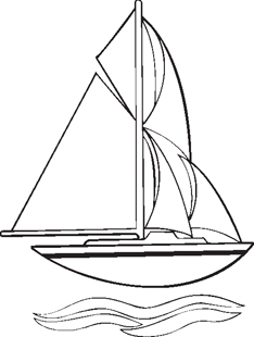 sailing Yacht decal