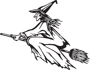 witch decal