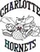 Charlotte Hornets decal B