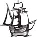 galleon decal