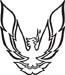 Firebird Sail Panel Decal