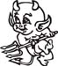 Baby Devil decal