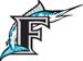 Florida Marlins decal 2000
