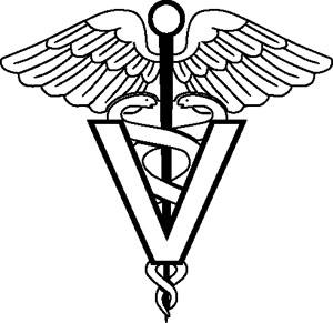 Veterinarian Symbol Decal