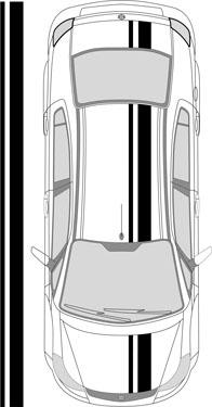 "10""_2 Dual Racing Stripes"