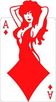 Ace of Diamonds decal