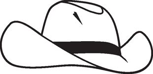 30d04c8e Cowboy Hat :: MISCELLANEOUS :: Decals :: Custom Lettering and Decals ...