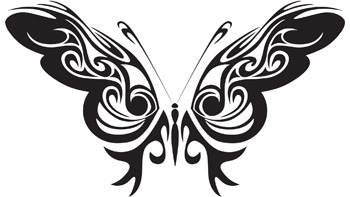 Tribal Butterfly 47