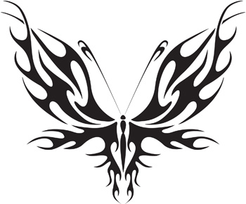 Tribal Butterfly 50