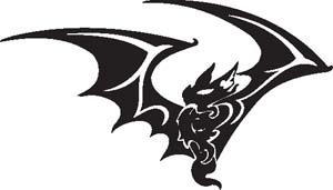 Tribal Bat 14
