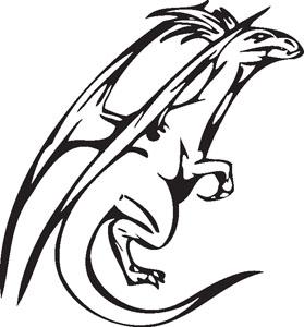 Dragon decal 30