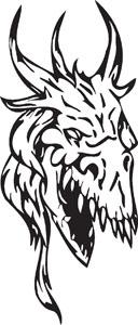 Dragon decal 32