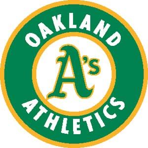Oakland Athletics decal