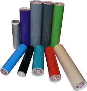 Self Adhesive Standard Colors Vinyl Material